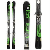 Volkl Code PSI Green Skis + Marker Motion 12 Demo Bindings - Used 2012