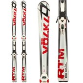 Volkl RTM 80 Skis + Marker Wide Ride 12 Demo Bindings - Used 2012