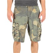 Volcom Slargo Cargo Mixed Camo Shorts (Ages 4-7) - Boy's