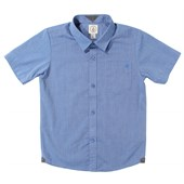 Volcom Weirdoh Solid SS Shirt (Ages 4-7) - Boy's