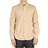 Volcom Weirdoh Mini Check Long-Sleeve Button-Down Shirt