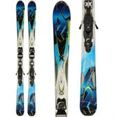 K2 Aftershock Skis + iPT 12 Demo Bindings - Used 2012