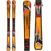 Rossignol Avenger 82 Carbon Skis + NX 12 Demo Bindings - Used 2012
