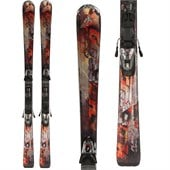 Nordica Hot Rod Flare Ca XCT Skis + iPT 12 Demo Bindings - Used 2012