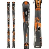 Rossignol Zenith Z3 Oversize Skis + Axium 11 Demo Bindings - Used 2009