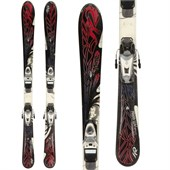 K2 Free Luv Skis + Look Nova 9 Demo Bindings - Used - Women's 2011