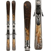 Volkl Attiva Tierra Skis + iPT 11 Demo Bindings - Used 2009 - Women's