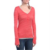 Bench Buttonit LS Henley Top - Women's
