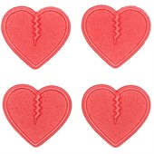 Crab Grab Mini Hearts Stomp Pad - 4 Pack - Women's