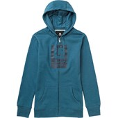 Burton Logo Vertical Full Zip Hoodie - Women's