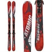 Atomic Crimson Skis + XTO 12 Demo Bindings - Used 2012