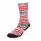 Strideline Red Elephant Bengal Crew Socks