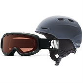 Smith Zoom/Gambler Helmet and Goggle Combo - Kid's
