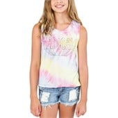Billabong Hippie Skies Tank Top (Ages 8-14) - Girl's