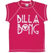 Billabong Avery Short Sleeved Rashguard (Ages 8-14) - Girl's 2014