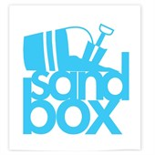 "Sandbox 5"" Stacked Sticker"