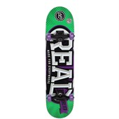 Real League Oval Skateboard Complete
