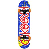 Krooked Eyes Krasher Skateboard Complete