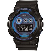 G-Shock GD120 Neon Face Color Watch
