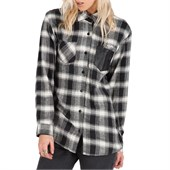 Volcom Explosivo Long-Sleeve Button-Down Shirt - Women's
