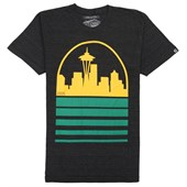 Casual Industrees Seattle Skyline T-Shirt