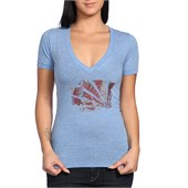 Casual Industrees WA Brah Fern V-Neck T-Shirt - Women's