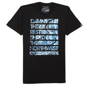 Casual Industrees Damn the Rest NW - Photo T-Shirt