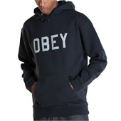 Obey Clothing Collegiate Reflective Pullover Hoodie