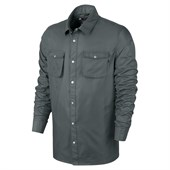 Nike SB Holgate Satin Long-Sleeve Button-Down Shirt