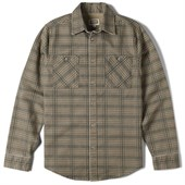 Altamont Refracted Long-Sleeve Button-Down Flannel