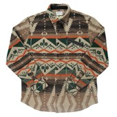 Ourcaste Moose Long-Sleeve Button-Down Shirt