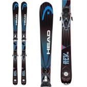Head REV 85 Pro Skis + SX 10 Bindings 2014