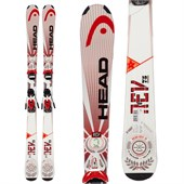 Head REV 75 Skis + SX 10 Bindings 2014