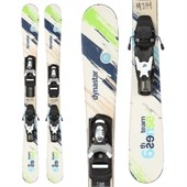 Dynastar Sixth Sense Team Skis + Team 4 Demo Bindings - Used - Kid's 2013
