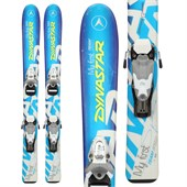 Dynastar My First Team Speed Skis + Team 2 Demo Bindings - Used - Boy's 2012