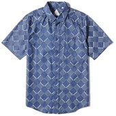 Altamont Bowed Short-Sleeve Button-Down Shirt