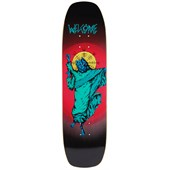 Welcome Wolfgod 8.4 On Wormtail Skateboard Deck