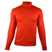 Hot Chillys Micro-Elite Chamois Panel Zip Top