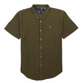 Dark Seas Parbuckle Short-Sleeve Button-Down Shirt