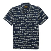 Dark Seas Barracuda Short-Sleeve Button-Down Shirt