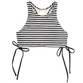 Amuse Society Frankie Stripe Tank Bikini Top - Women's