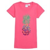 Roxy Geo Pineapple T-Shirt (Ages 8-14) - Girl's