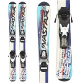 Dynastar Team Speed Skis + Team 4 Demo Bindings - Used - Kid's 2008