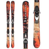 Dynastar Team Legend Skis + Team 4 Demo Bindings - Used - Kid's 2009