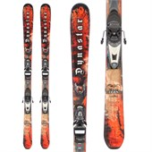 Dynastar Team Legend Skis + Nova 7 Demo Bindings - Used - Kid's 2009