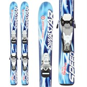 Dynastar My First Team Speed Skis + Team 2 Demo Bindings - Used - Boy's 2011