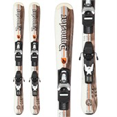Dynastar Team Legend Skis + Team 4 Demo Bindings - Used - Kid's 2011