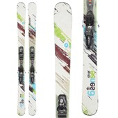 Dynastar 6th Sense Slicer Skis + PX 12 Demo Bindings - Used 2012