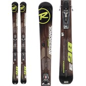 Rossignol Experience 98 Skis + Axium 120 Demo Bindings - Used 2012