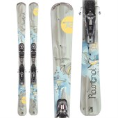 Rossignol Temptation 88 Skis + Axium 120 Demo Bindings - Used - Women's 2013